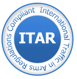 ITAR certification logo